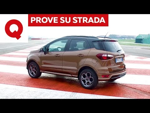 Ford Ecosport ST Line: prova su strada della piccola SUV | Quattroruote