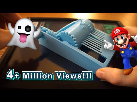 3D Printed Super Mario Song Sounds Scary