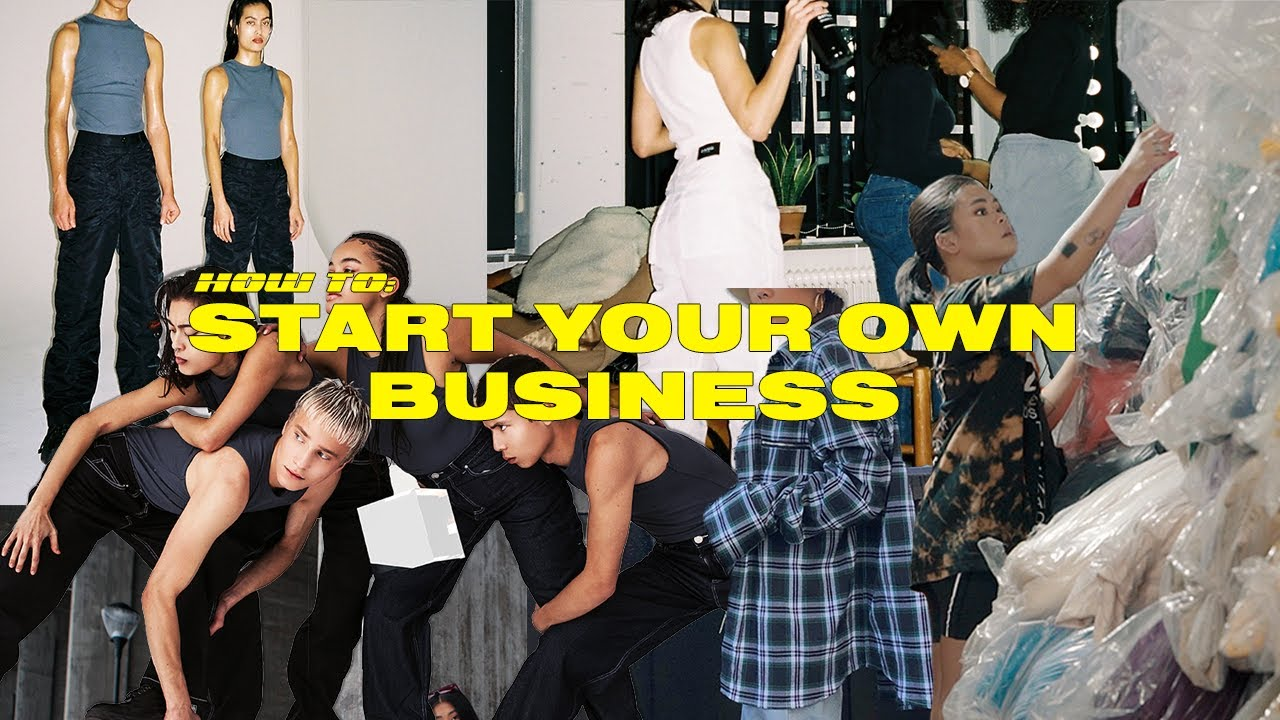 How To Start Your Own Clothing Brand Youtube