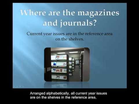 Where Are The Magazines And Journals?