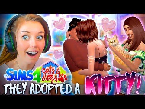 �CHARLIE'S SECRET BOYFRIEND?!😱 (The Sims 4 CATS & DOGS #2�)