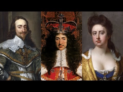 Kings & Queens of England 6/8: The Stuarts – Over Sexed and Over Here