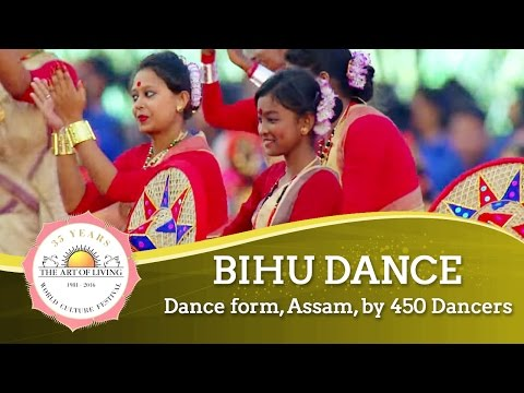 Bihu Dance - Dance Form, Assam, India | World Culture Festival 2016