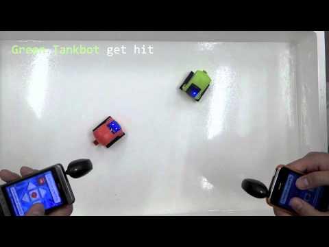Desk Pets Tankbot Battle