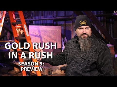 gold rush season 5 preview gold rush in a rush youtube. Black Bedroom Furniture Sets. Home Design Ideas
