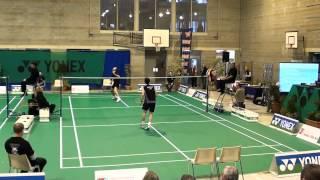 1/2 finale Men's single Moreels vs Gaspard