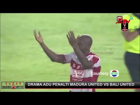 Madura United vs Bali United Drama Adu Penalti (6 - 7)