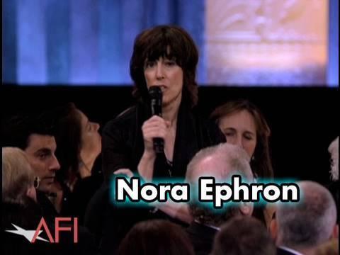Nora Ephron Salutes Mike Nichols at the AFI Life Achievement Award