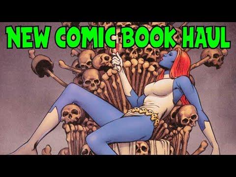 New Comic Book Haul October 4 2017