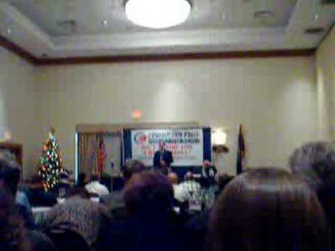 Jim Clymer at the Constitution Party National Meeting