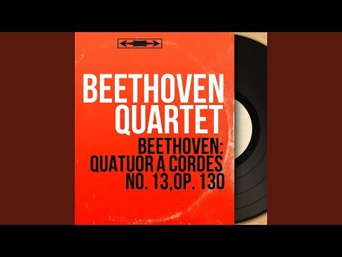String Quartet No. 13 In B-Flat Major, Op. 130: V. Cavatina. Adagio Molto Espressivo