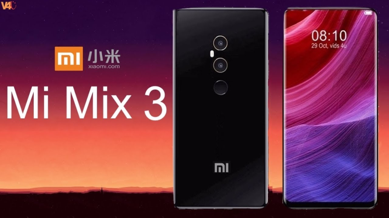 Xiaomi Mi Mix 3 (2018) Concept With Specifications, Camera ...