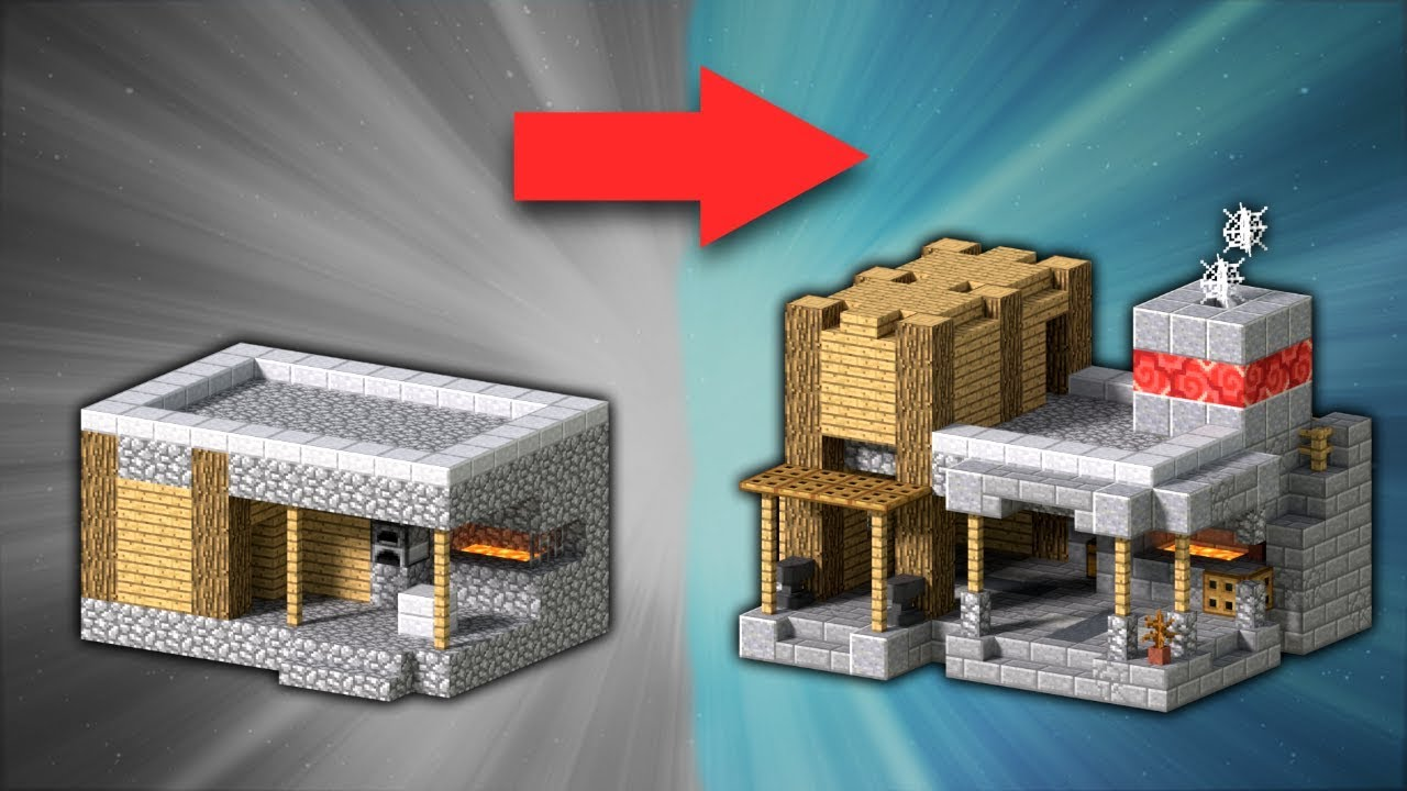 How to Transform a Village Blacksmith | Minecraft