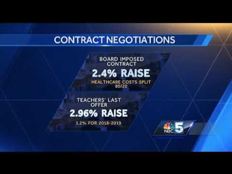 Burlington School Board imposes teacher contract