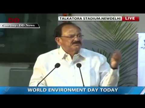 Union Minister Shri M. Venkaiah Naidu launches Nation wide campaign for waste management