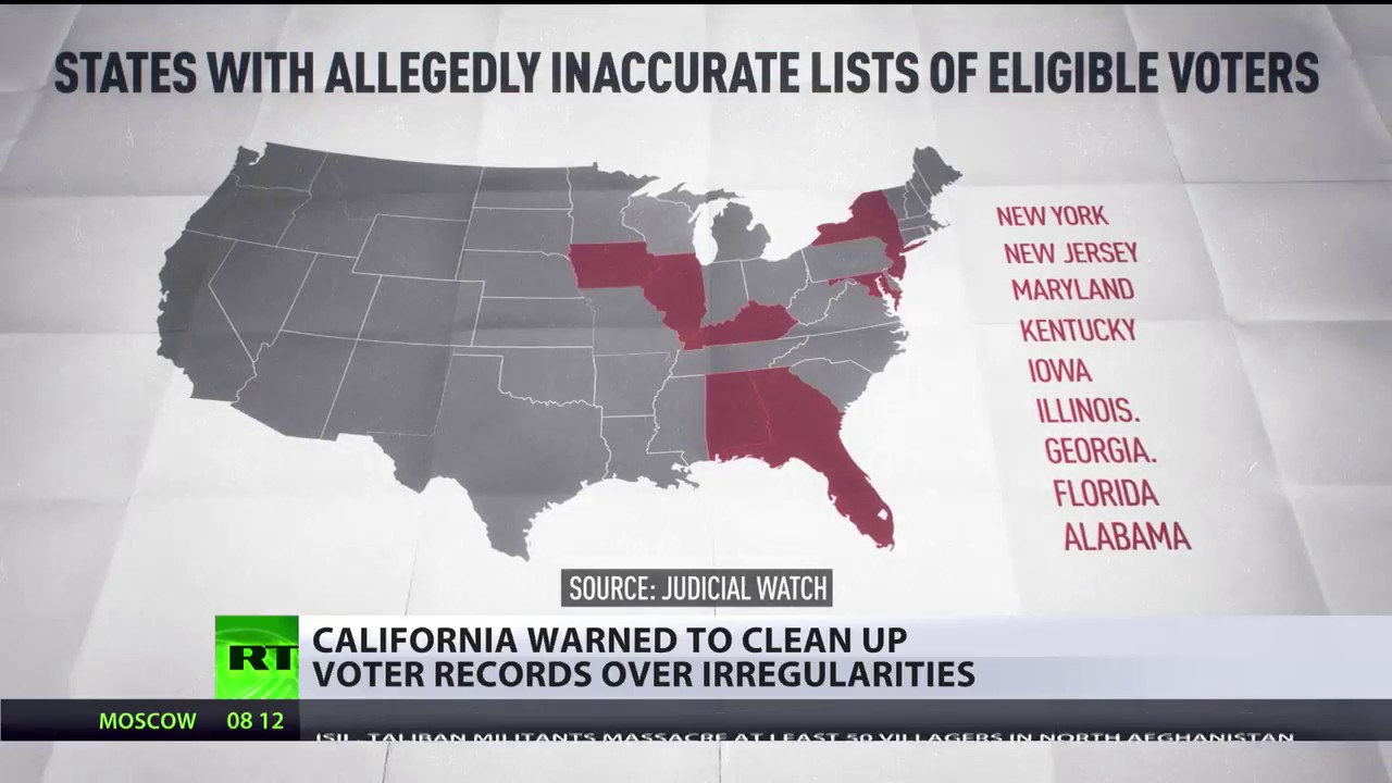 Image result for VOTER FRAUD REPORT: Eleven California Counties Have More Registered Voters Than Eligible Citizens
