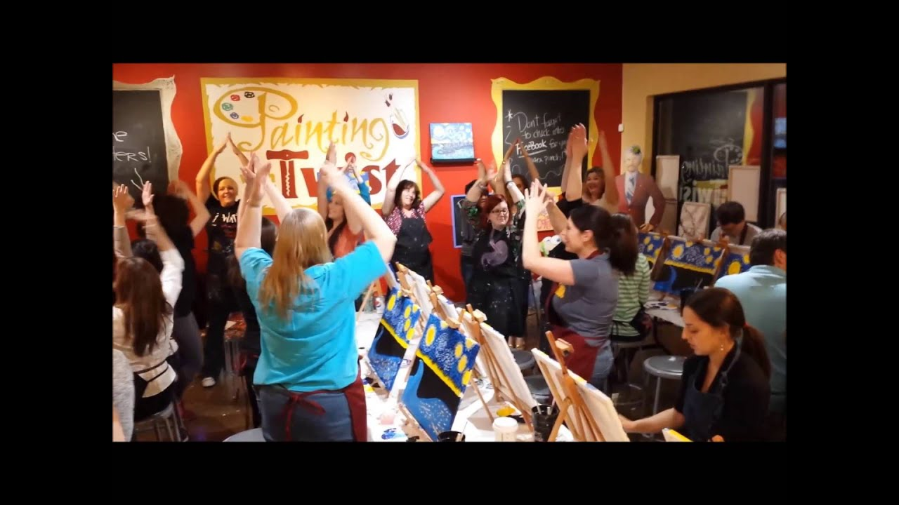 Painting With A Twist Pittsburgh West 1 Year Anniversary Party Youtube