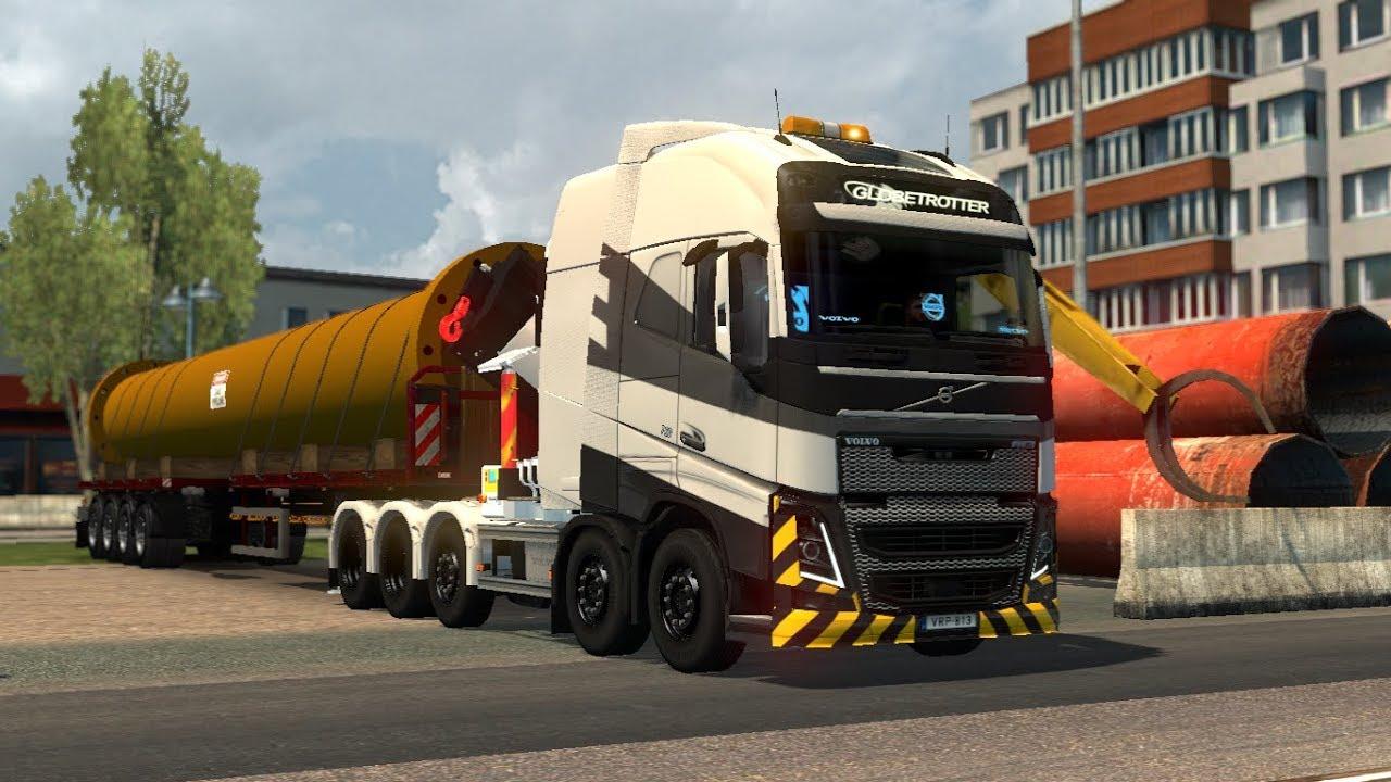[1.30] Euro Truck Simulator 2   RPIE Volvo FH16 2012   Mods #1