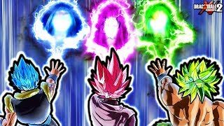 NEW ANIME COLORED KI BLAST TYPES! Dragon Ball Xenoverse 2 Custom Ki Blast Pack ALL Colors & Types