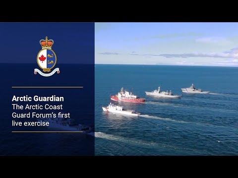 Arctic Guardian – The Arctic Coast Guard Forum's first live exercise