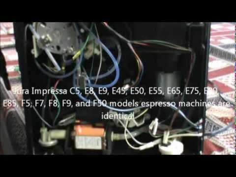 Jura Impressa C E And F Series Espresso Machine Display