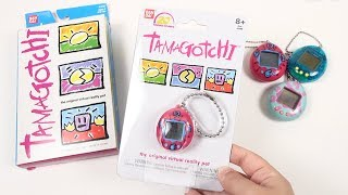 tamagotchi Is Back!  Unboxing & History (20th Anniversary)