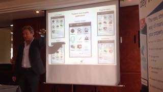 David Cummin talks at the Docklands ARLA meeting about Arthur Property Management Software