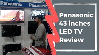 Panasonic LED Tv 43 Inches complete Review Panasonic fx600D Review