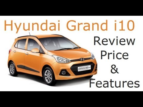 Hyundai Grand i10 Review With Features, Price and Walk Around - YouTube