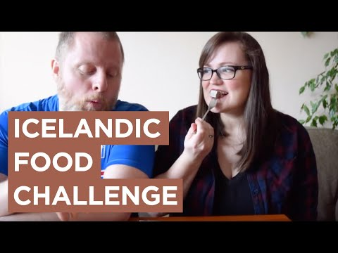 The Icelandic Food Challenge