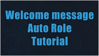 Download Discord Py Tutorial 3 Welcome Message Auto Role MP3