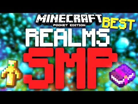 IT STARTS NOW! - BEST REALM SMP FOR MCPE??? (Minecraft Pocket Edition)