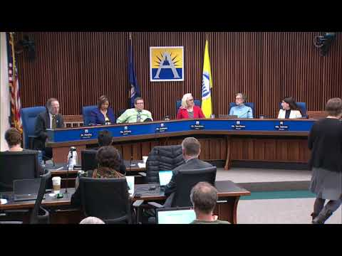 School Board Meeting March 22, 2018 Part 2 CC