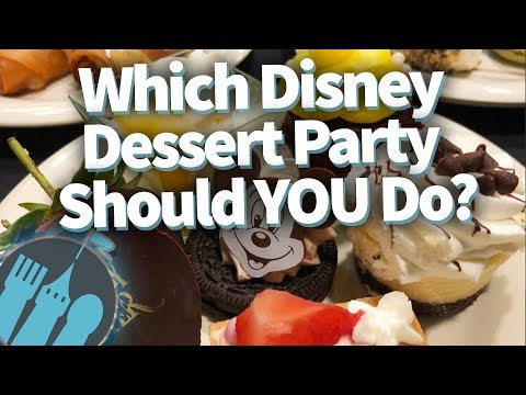 Which Disney World Dessert Party Should YOU Do?