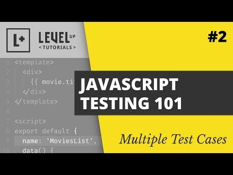 Multiple Test Cases - JavaScript Testing