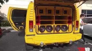 ds18 hummer h2 california sound