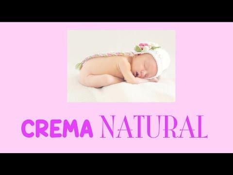 Crema Natural Casera Para Bebés