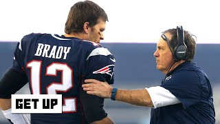 Reacting to Tom Brady's comments about Bill Belichick on The Howard Stern Show | Get Up
