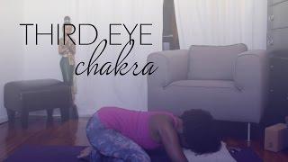 6th Chakra (Third Eye) | Yoga with Faith Hunter