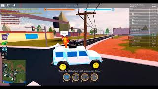 I play roblox with my friends (jailbreak)