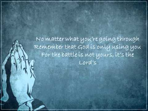 The Battle is Not Yours by Yolanda Adams (Lyrics)