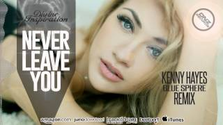 DNZ150 // DIVINE INSPIRATION - NEVER LEAVE YOU KENNY HAYES REMIX (Official Video DNZ RECORDS)