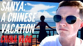 Sun and Sea in China Sanya Hainan China Vlog