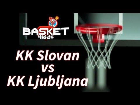 BASKET 4 KIDS   KK Slovan - KK Ljubljana   Basket4Kids Domžale