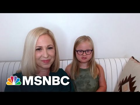 Ten-Year-Old Model With Down Syndrome, Mom Share Their Message | MSNBC