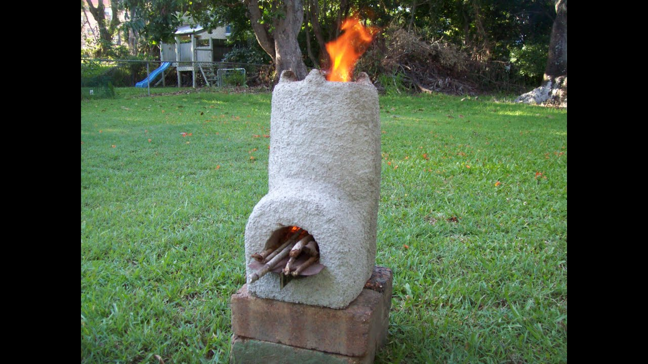 24 Diy Wood Stoves together with Estufa cohete additionally Watch in addition Watch further Homemade Wood Stove. on homemade propane tank rocket stove