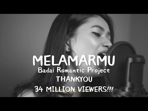 Dilamarmu (melamarmu) - Badai romatic project Live cover Della Firdatia (Lirik versi cewek)