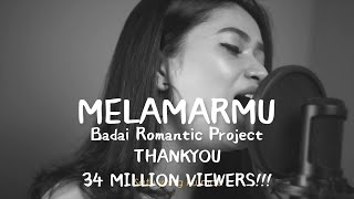 Download video Dilamarmu (melamarmu) - Badai romatic project Live cover Della Firdatia (Lirik versi cewek)