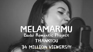 Download Dilamarmu (melamarmu) - Badai romatic project Live cover Della Firdatia (Lirik versi cewek)