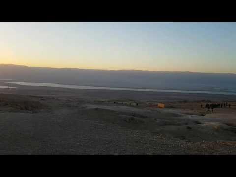 Today in Israel - Masada, Ein Gedi and the Dead Sea.